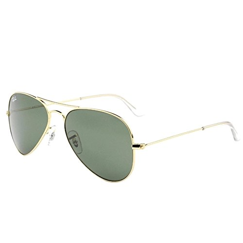 Ray-Ban Aviator RB3025 Sunglasses W3234 Arista Gold / G15 Lens 55mm (SMALL SIZE)