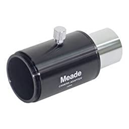 Meade Instruments SLR 1.25-Inch Basic Camera Adapter for Refractor and Reflector Telescopes - Black (07356)