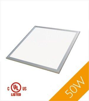 Troffer 2'X2' 50 Watt Ul, Dlc Led Panel Light, Cool White 4000K, 4200 Lumens, 1-Pack