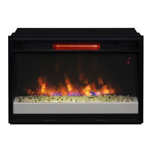 Classic Flame 26Ii310Grg-201 Infrared Spectrafire Plus Contemporary Insert With Safer Plug, 26-Inch
