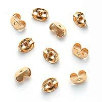 14K Gold Filled Earring Backs (5 Pairs) Ear Nuts