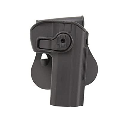 SigTac Retention CZ75B Roto Paddle Holster, Black, Right, 9mm