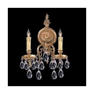 Amazon.com: Olde World Candle Wall Sconce in Olde Brass with ...