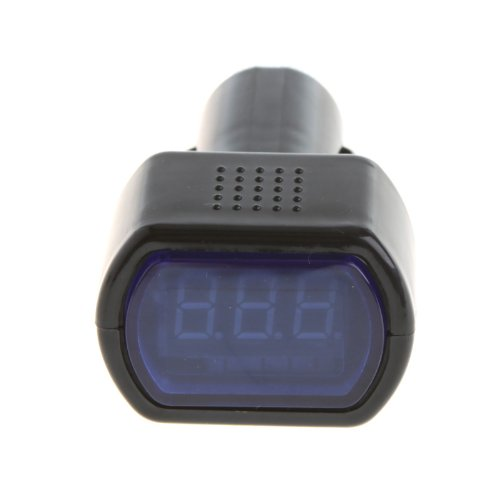 Docooler Electric Meter With High Brightness Of Led For Dc 12V Cars