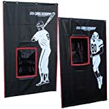Cimarron Outdoor Sports Gaming Accessories 2-Sport Catcher Vinyl Backstop by Cimmaron Sports