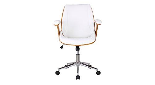 Urban Ladder Ray Study Chair (White)