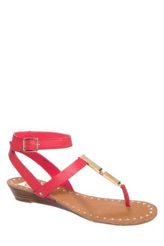 DV by Dolce Vita Vasni Low Wedge Thong Sandal