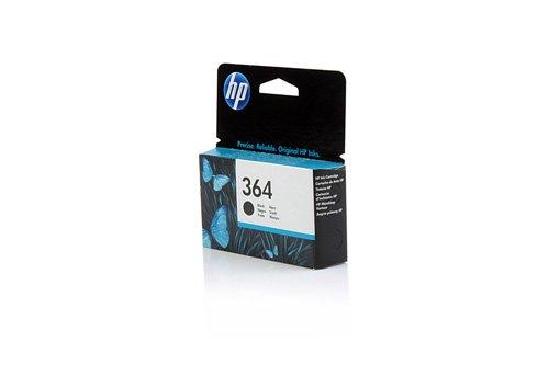 Original Tinte HP Nr 364 CB316EE - 1 Tinten-Patrone - Schwarz - 250 Seiten - 6 ml - passend für OfficeJet 4620