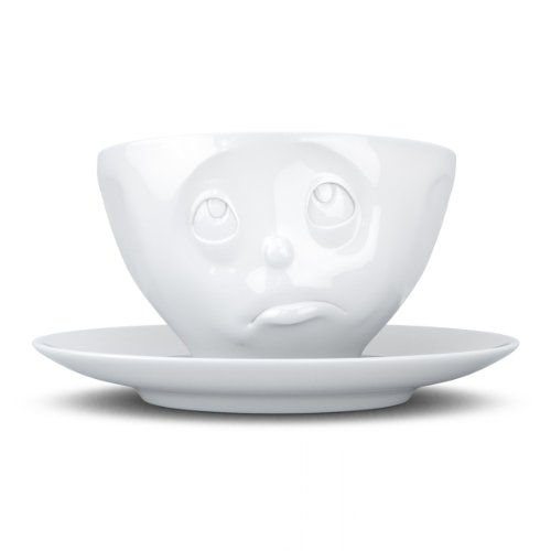 T014401 Kaffee-Tasse Och Bitte Hartporzellan 200 ml, weiß