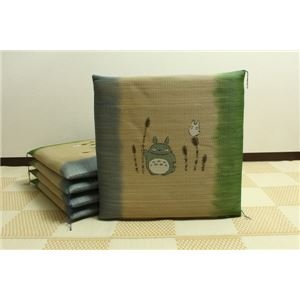 Purely domestic textile return not grass cushions 'Tsukushi Totoro 5-disc ' approximately 55 x 55 cm × 5 P