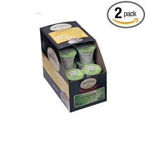 Twinings Pure Peppermint Tea, 24-Count K-Cups For Keurig Brewers (Pack of 2) from Twinings