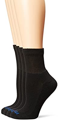 PEDS Women's Diabetic Quarter Socks w…