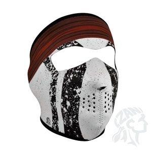 Zan Headgear Men's Comanche Neoprene Full Face Mask men women skull casual windproof mask full face neck coverage headgear protect cap 4 styles