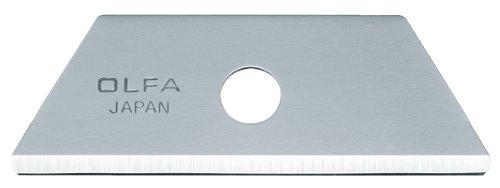 Olfa 9615 Rskb-2/10B Rounded Tip Safety Blades, 10-Pack