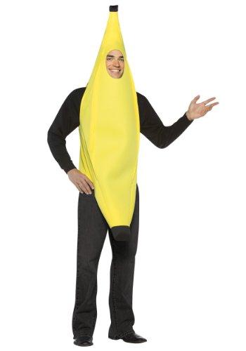 Angels Fancy Dress Unisex Banana Costume, Size
