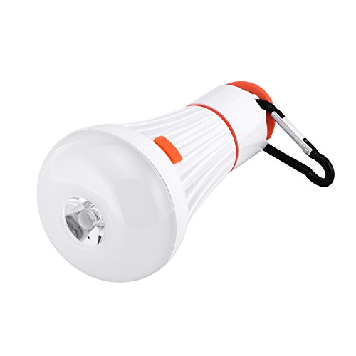 Camping Lights, (Buy One or More Get One Free)Sanniu 4 Modes Tent Lights Outdoor Portable LED Camping Light Lantern Light Bulb with Flashlight for Camping, Hiking, Car Repairing.Battery Powered (Light Bulb For Lantern compare prices)