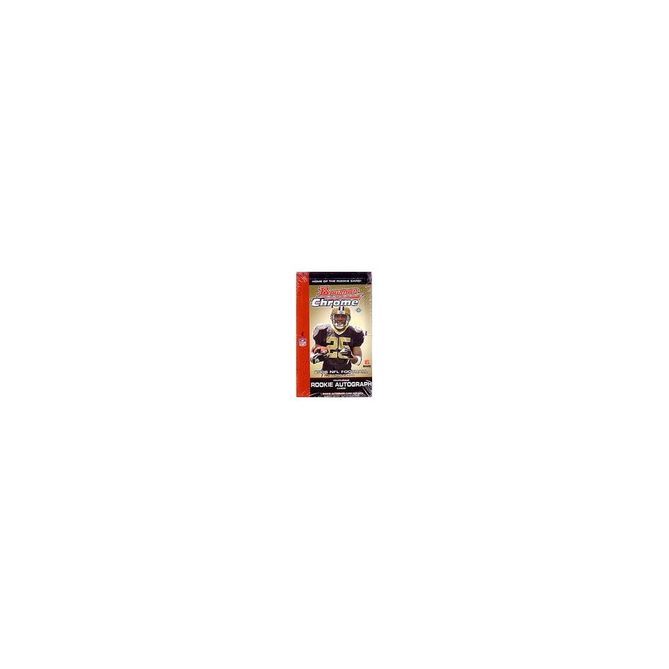 2006 Bowman Chrome NFL Football Sports Trading Cards Box