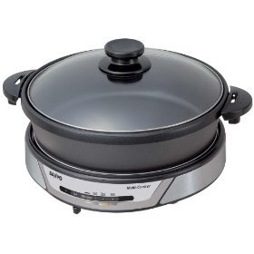 Digital Slow Cookers: SANYO HPSMC3 MULTI COOKER NON STICK STEAMER SLOW COOKER (HPSMC3) -