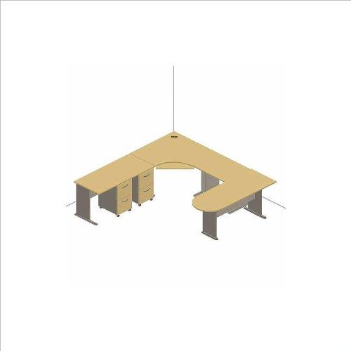 Bush Furniture Advantage Series Corner U Shaped Desk in