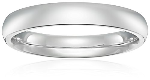 Standard Comfort-Fit Platinum Band, 4mm, Size 9 (Platinum 4mm Band compare prices)