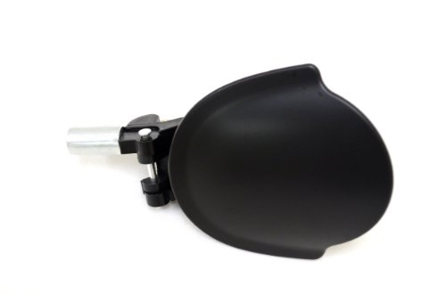 PT Auto Warehouse FO-3940P-FL - Outside Exterior Outer Door Handle, Primed Black - Driver Side Front (1999 Quest Door Handle compare prices)