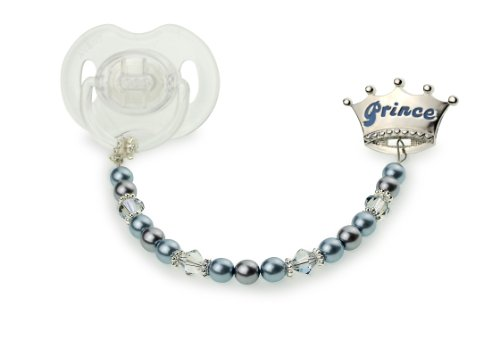 Baby Prince Pacifier Clip