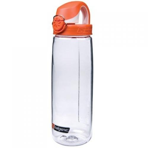 Nalgene On The Fly Water Bottle Clear/Orag front-579082