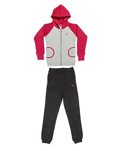 PumaTuta Sport Hooded Sweat Suit [Blu/Viola]