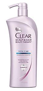 Clear Total Care Nourishing Shampoo, 21.9 Fluid Ounce