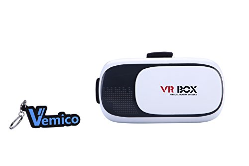 Vemico VR Box -3D VR Headset Virtual Reality Glasses for iPhone6/ 6plus,iphone7/ 7plus & Android smart phone Samsung/ Moto/ LG/ Nexus /HTC (Focal and Pupil Distance Adjustable Headset ) (Google Nexus Service Centre compare prices)