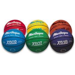 Buy MacGregor Outdoor Rubber 27.75 Junior Size Multicolor Basketballs Color: Red (MCBBX418) by MacGregor
