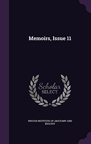 Memoirs, Issue 11