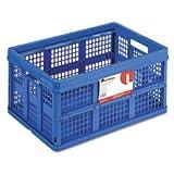 Universal 40013 Filing/Storage Tote Storage Box, Plastic, 22-1/2 x 15-3/4 x 12-1/4, Blue