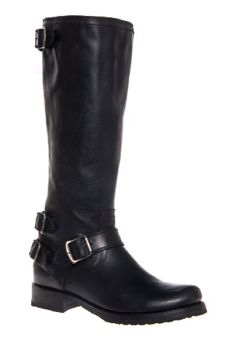 Frye Veronica Back Zip Tall Low Heel Boot