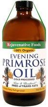Raw Organic Evening Primrose Oil - Fresh-Pressed - 2 oz