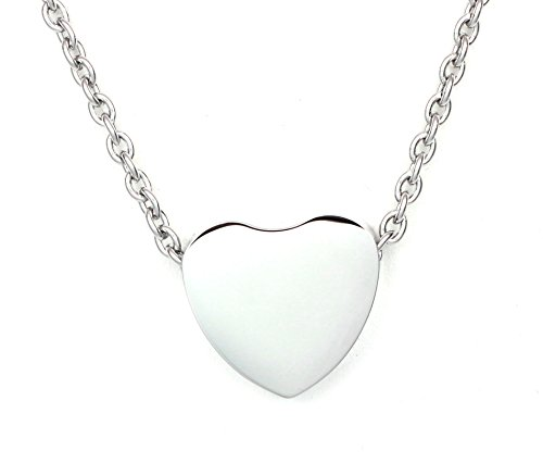 Floating Heart Pendant Cremation Urn Jewelry