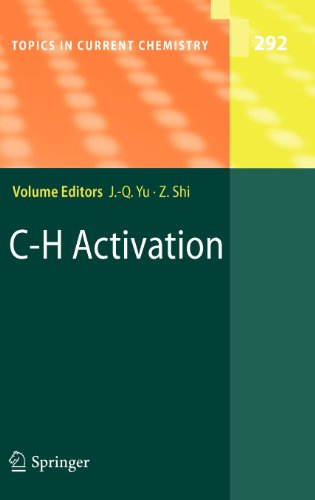 C-H Activation (Topics in Current Chemistry) PDF