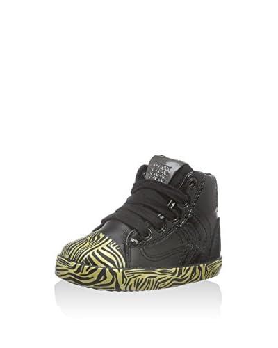 Geox Hightop Sneaker B Kiwi Girl D schwarz