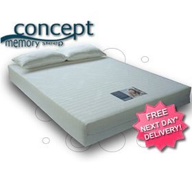 Memory Foam Mattress, Concept Premium 4000 King Size 5ft.