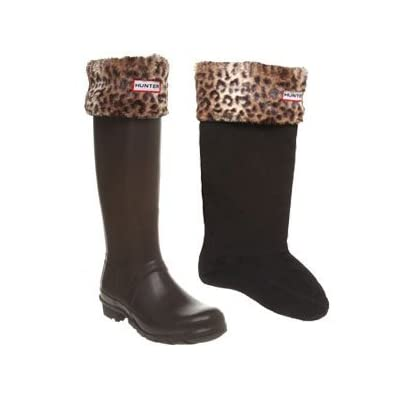 Hunter Leopard Boot Socks