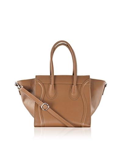 Carla Belotti Borsa A Spalla Handbag Light Brown Rose