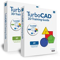 TurboCAD 18 2D & 3D Training Guides and DVD's - the best way to learn the features of TurboCAD 18