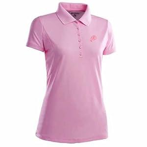 Washington Redskins Ladies Pique Xtra Lite Polo Shirt (Pink) by Antigua