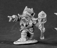 Reaper Miniatures 3455 Dwarf Wizard - 1
