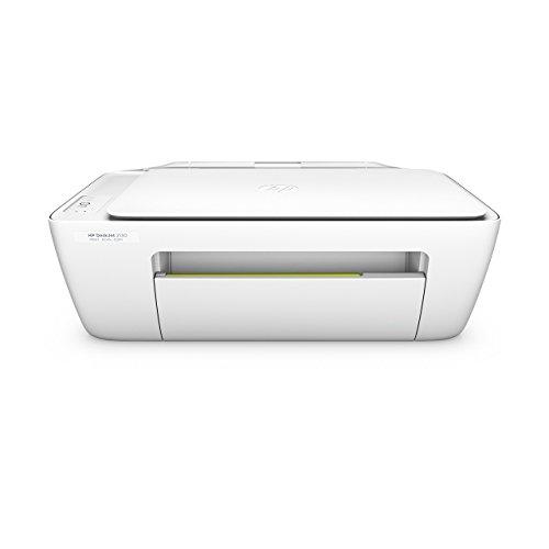 HP Deskjet 2130 (F5S40B) All-in-One Multifunktionsdrucker (A4 Drucker, Scanner, Kopierer, Hi-Speed USB 2.0, Druckauflösung: 4.800 x 1.200 dpi) weiß