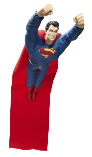 Superman Man of Steel Swingshot Action Figure Plush Toy - 1