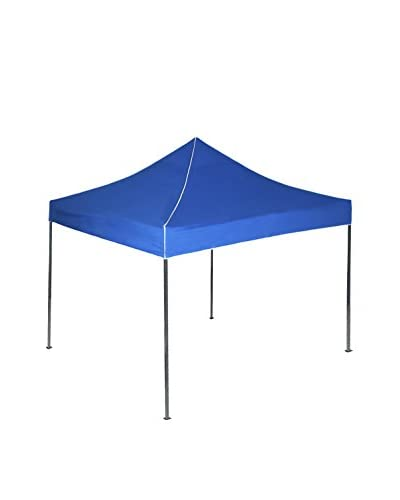 Stalwart 10' x 10' Pop-Up Instant Canopy Tent, Blue