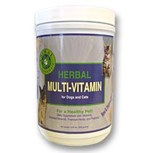 Animal Essentials Herbal Multi-vitamin for Dogs and Cats (300 Grams)