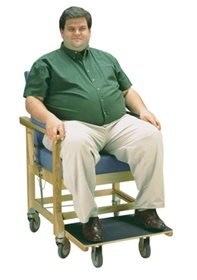 Amazon Com Dss Ascender Bariatric Transport Day Chair