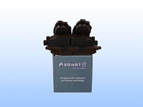 original-ashuki-kit-de-plaquettes-de-freins-arriere-subaru-garantie-3-ans-top-qualite
